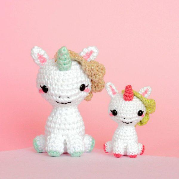 Licornes au crochet