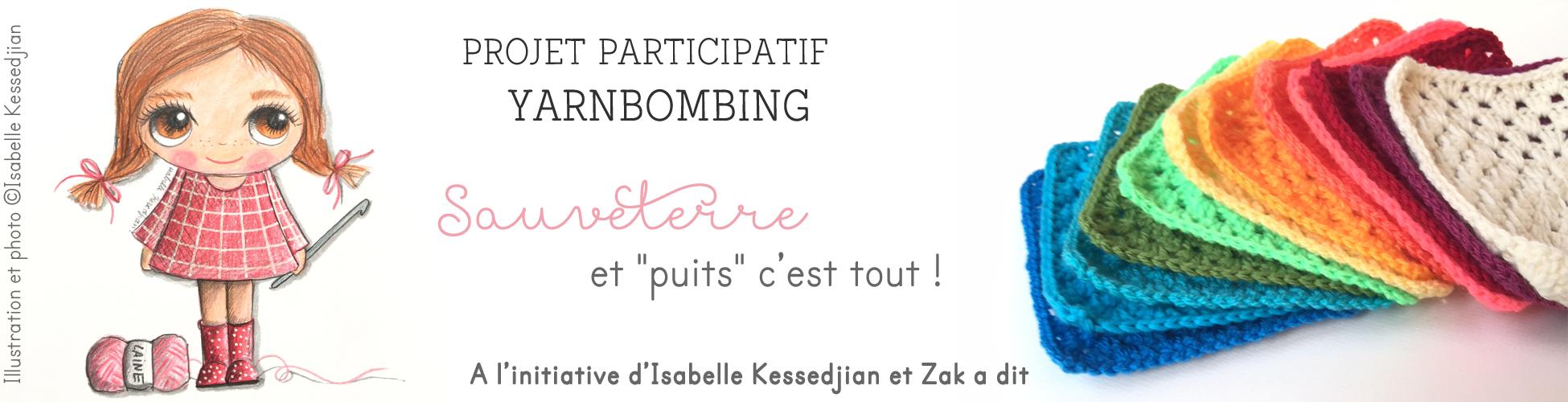 Projet participatif yarnbombing