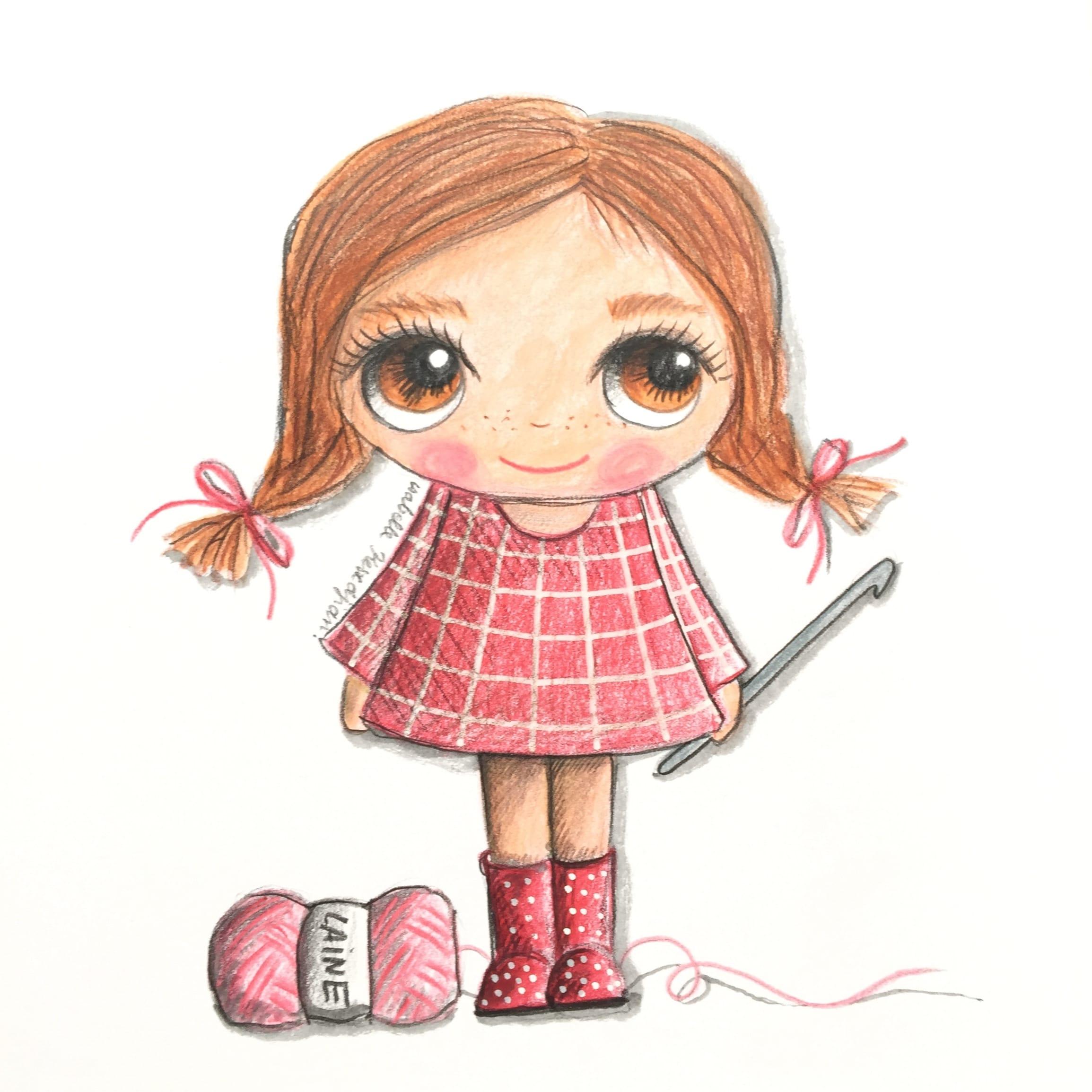 Quand je serai grande, je ferai du crochet - Isabelle Kessedjian