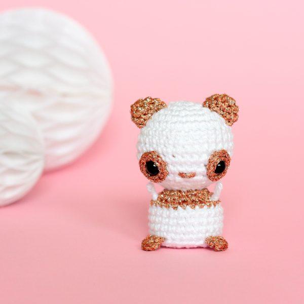 amigurumi panda au crochet