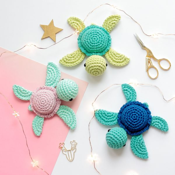 Tortues au crochet