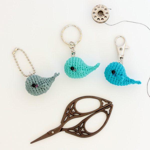 Porte clés baleine
