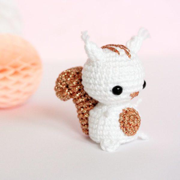Amigurumi écureuil