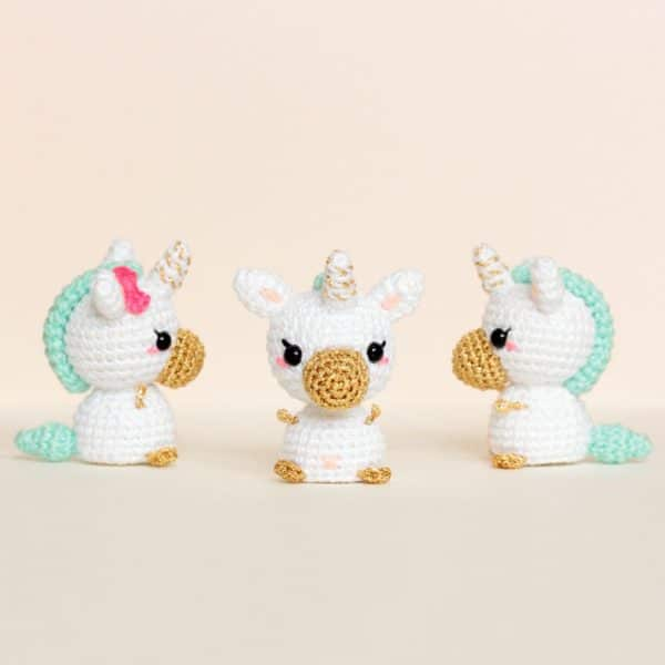 Licornes miniatures