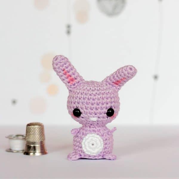 lapin miniature au crochet