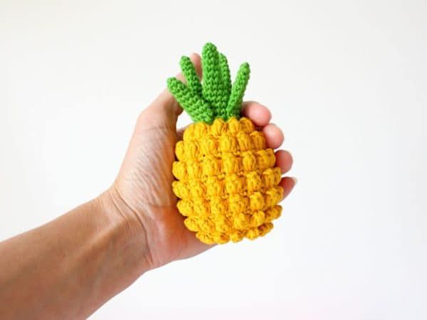patron ananas au crochet