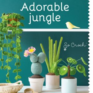 Adorable jungle au crochet