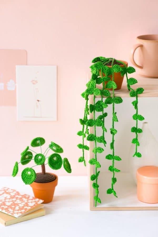 plantes au crochet