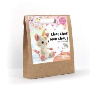 Kit crochet chat licorne