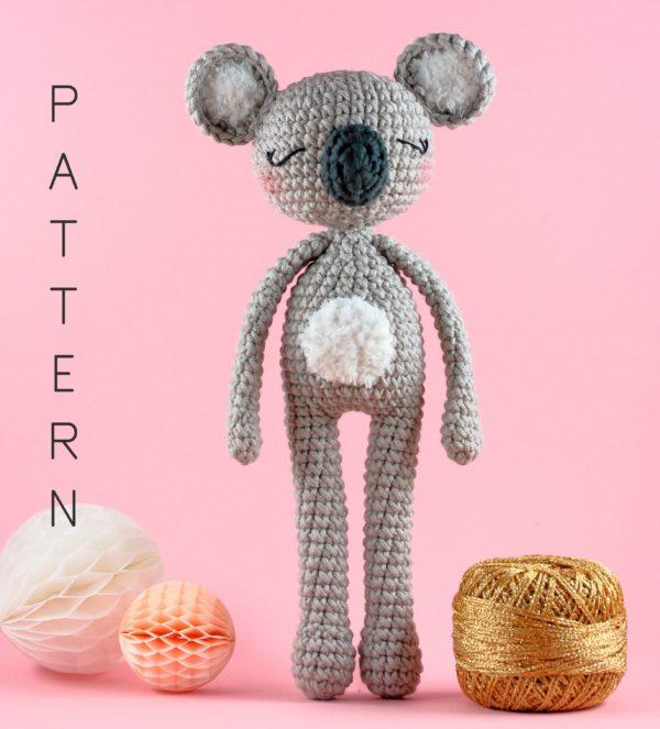 pattern crochet koala