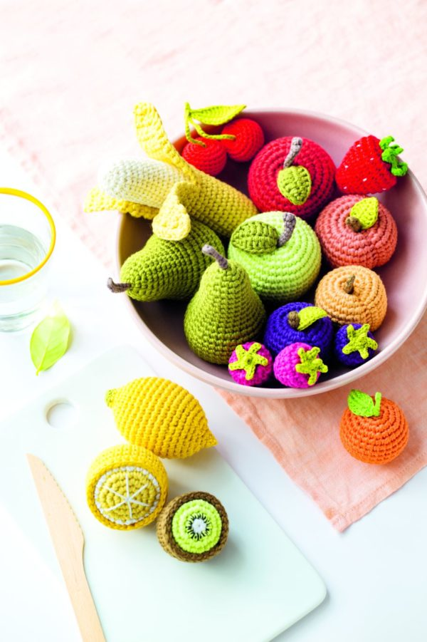 fruits au crochet