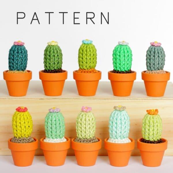 patron cactus au crochet