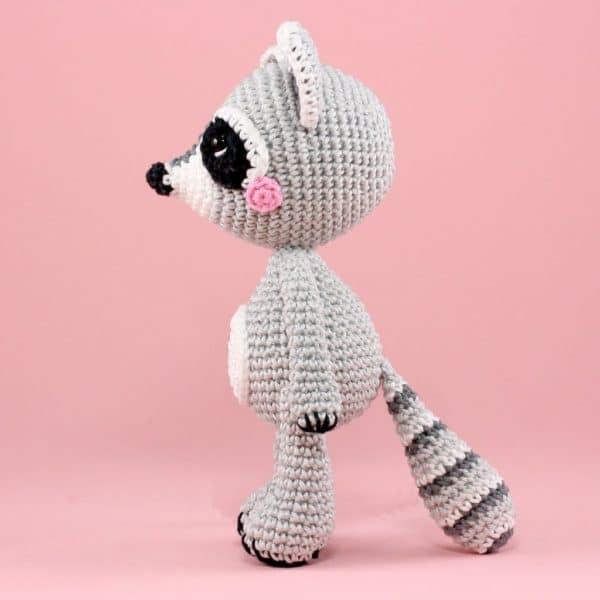 Tuto raccoon au crochet