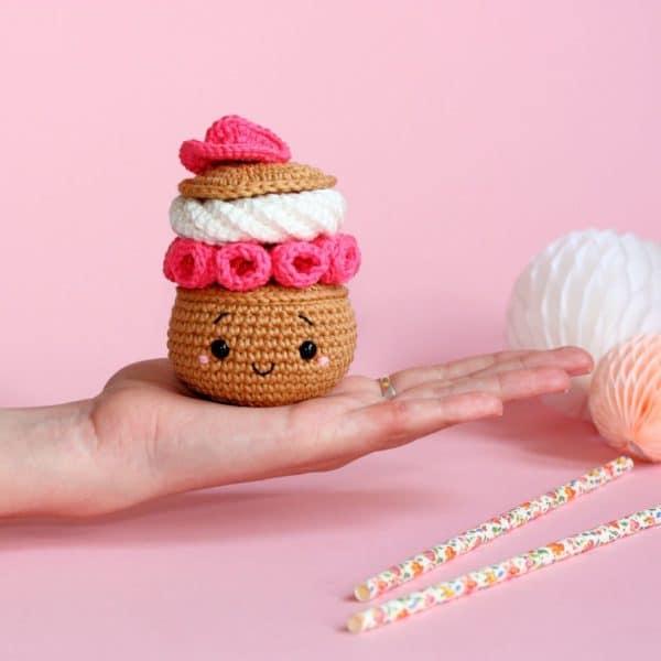 Chou ispahan au crochet
