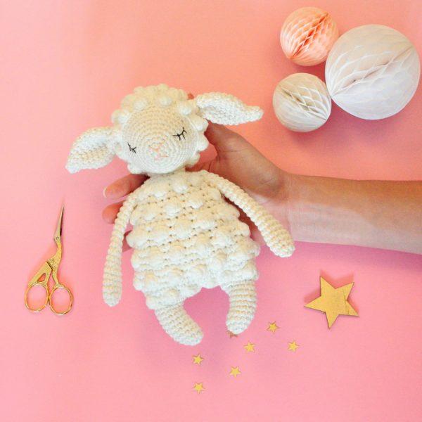 Amigurumi agneau