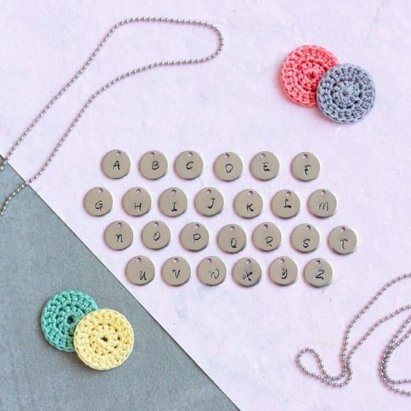 médailles gravées initiales