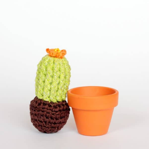 petit cactus au crochet