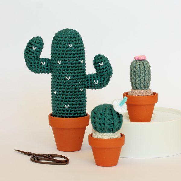 Amigurumis cactus