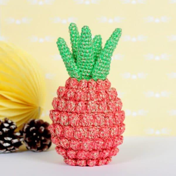 Amigurumi ananas au crochet