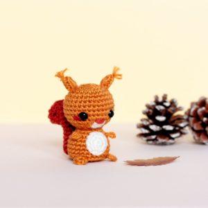 Écureuil au crochet