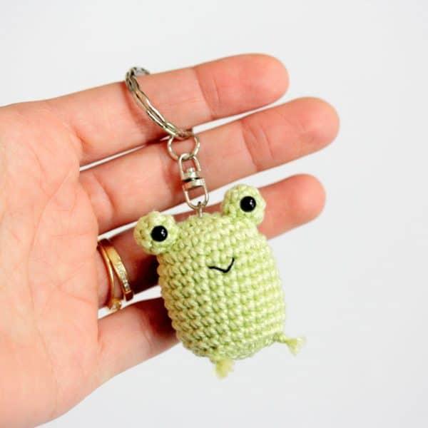 Porte clés grenouille
