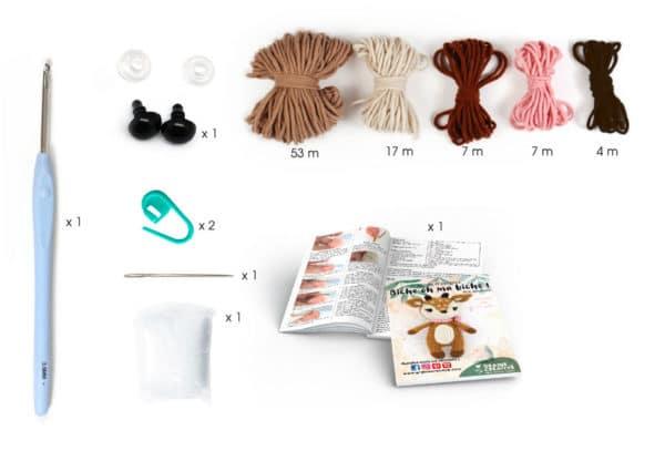 kit crochet biche