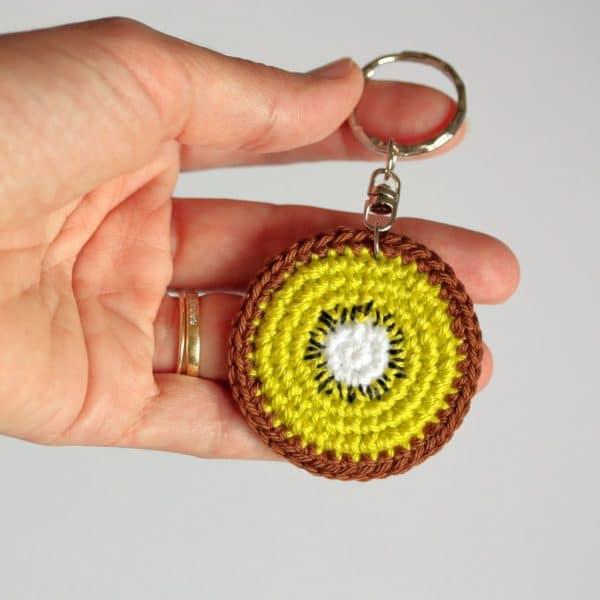 Porte clés kiwi