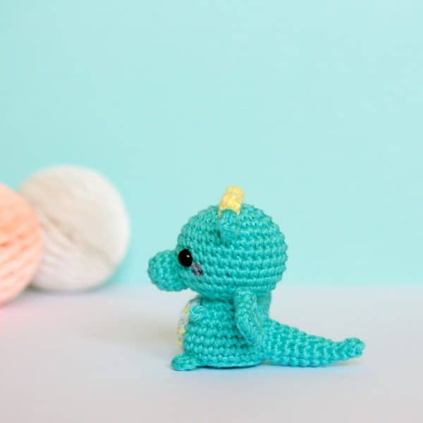 dragon au crochet