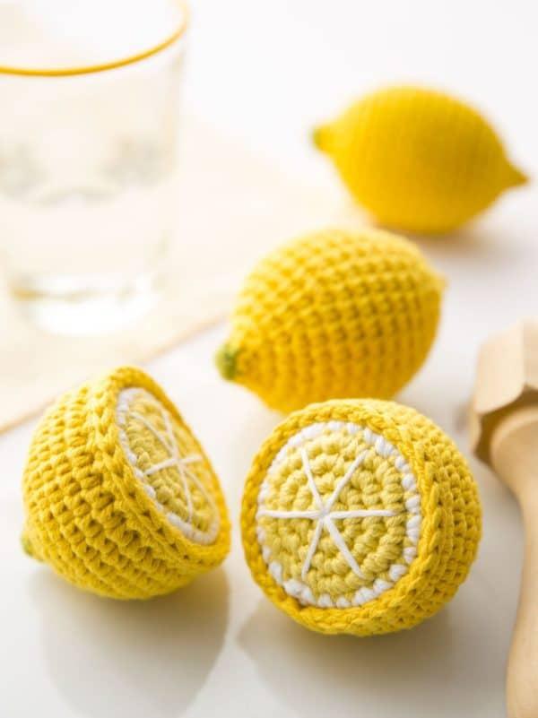 Citrons au crochet