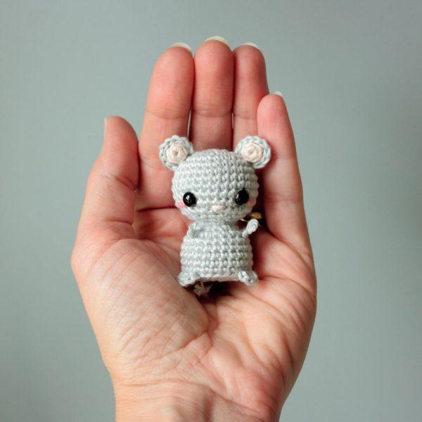 petite souris crochet