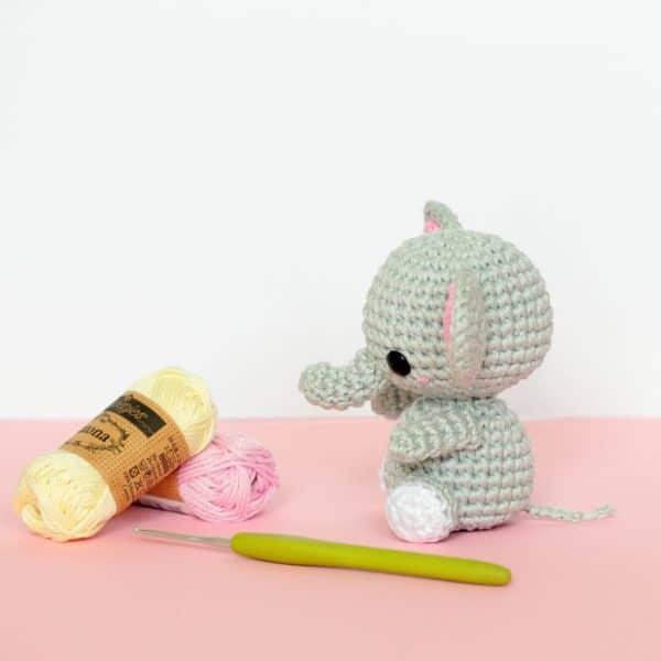 elephant au crochet